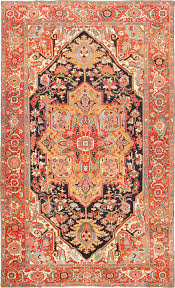 Boho Rugs Antique Serapi Carpet 47136 Main Image By Nazmiyal Http