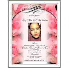 free funeral programs best photos of obituary designs simple funeral program