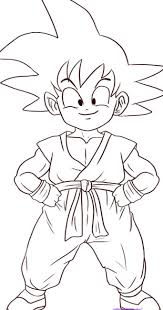 dragon ball z drawing coloring pages for kids coloring pages