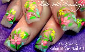 raindrop nail art diy easy water droplet spring nails tutorial