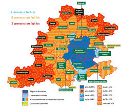 Belgium Language Map Bel Vlaamse Rand U0026 U201ebrusselse Olievlek U201c U2013 Historic Correspondent