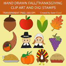 free thanksgiving clip and digi sts educational printables