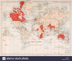 Imperialism In Africa Map by British Imperialism Stock Photos U0026 British Imperialism Stock