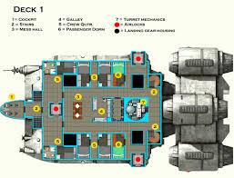 spaceship floor plan baby nursery large deck plans vcx lt freighter deck large jpg