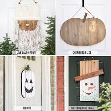 Door Hanger Design Ideas Diy Door Hangers Seasonal Dih Workshop Refresh Restyle