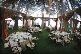outdoor tent wedding outdoor wedding venues the clear tent