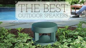 Wireless Outdoor Patio Speakers The Best Affordable Outdoor Speakers Techlicious