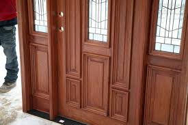 front doors wood double glazed better home front doors wood