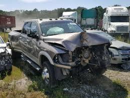 wrecked dodge trucks 2010 dodge ram 3500 for sale ga salvage cars