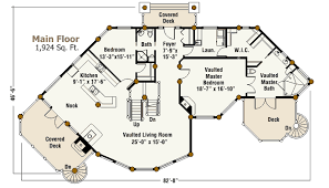 Post And Beam Floor Plans Log Home Of The Month The Blue Ridge
