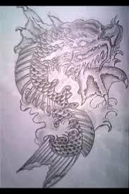 my koi fish design tattoos