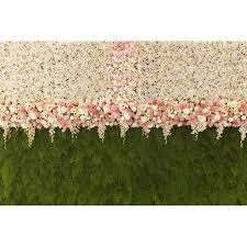 wedding backdrop grass flower and grass for wedding backdrop fleece photography backdrops