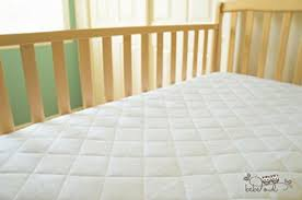 Soft Crib Mattress Pad Luxuriously Soft Bamboo Crib Mattress Cover By Bebe Owl Quilted