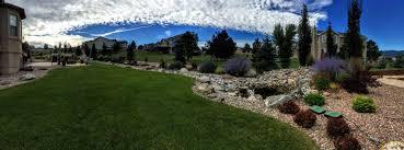 landscaping castle rock co lawn pros colorado