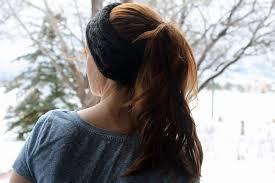 ear warmer headband cable ear warmer headband knitting pattern purlsandpixels