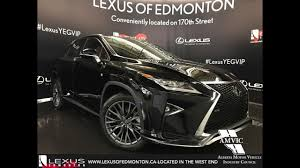 lexus jeep rx series 2017 black lexus rx 350 awd f sport series 2 in depth review
