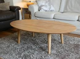 Oval Wood Coffee Tables Small Oval Oak Coffee Table Best Gallery Of Tables Furniture