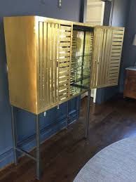 Gold Bar Cabinet Collaboration With Christopher At The 2015 Dc Design House