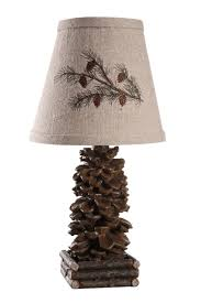 Cabin Light Fixtures by Ahs Lighting L1562 Up1 Pinecone Accent Lamp Table Lamps Amazon Com