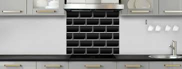 cuisine avec carrelage metro crédence de cuisine carrelage métro noir c macredence com