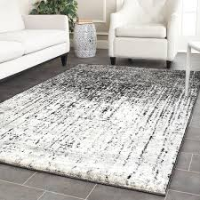 Black And Red Area Rugs by Amazon Com Safavieh Retro Collection Ret2770 9079 Modern Abstract