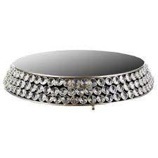 bling cake stand 12 bling mirror top cake stand hobby lobby 715284