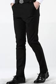 mogu 2017 new casual dress pants for men 7 colors slim men dress