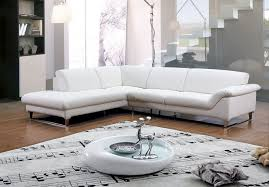 White Leather Corner Sofa Bed Modern Black Leather Corner Sofa With Track Arms And Adjustable