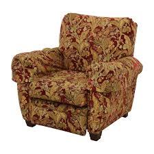 75 off lazy boy lazy boy burgundy floral recliner chairs
