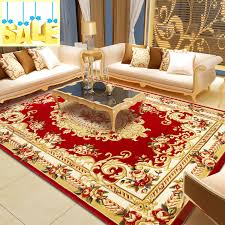 Big Area Rugs For Living Room by Online Get Cheap Shaggy Red Rug Aliexpress Com Alibaba Group
