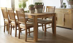 solid oak dining table and 6 chairs 6 chair dining table home size dimensions set die kramkiste