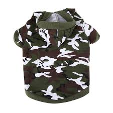 army pattern clothes amazon com army green camouflage hoodie pet dog clothes camo