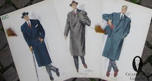50s clothing men u0027s overcoats u0026 suits u2014 gentleman u0027s gazette