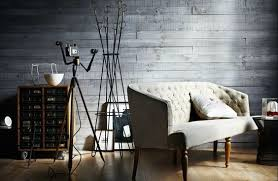 ok so this grey wood wall interior rocks the vertical