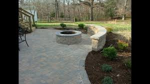 Backyard Paver Patio Ideas Paver Patio Designs With Fireplace Youtube