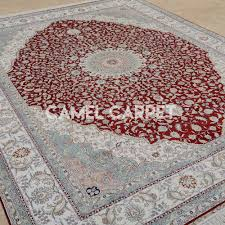 What Are Area Rugs Silk On Silk Persian Style Red And Gray Area Rug Camel Carpet