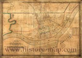 Map Of Cincinnati Cincinnati Jpg