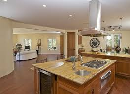 kitchen island stove top stove in island pics the multifunctional look of small kitchen