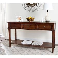 safavieh manelin coffee table safavieh manelin sepia storage console table amh6641a the home depot