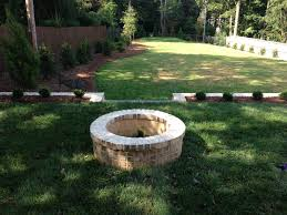 How To Make A Fire Pit In Your Backyard by Outdoor Stone Firepits Charlotte Nc Masters Stone Group