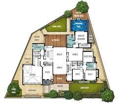single level home designs best 25 single storey house plans ideas on single