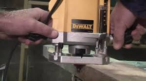how to use a dewalt router youtube