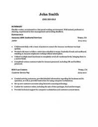Qa Resume With Retail Experience Sample Resume For Ojt J Pinterest Sample Resume