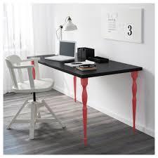 Schreibtisch 3 Meter Linnmon Tischplatte Weiß Ikea
