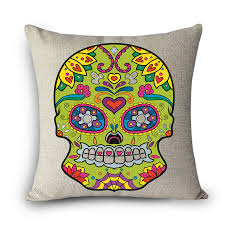 scandinavian home decor olivia decor decor for your home and scandinavian cojines mexican skull cushion cover pillow case halloween day of the dead home decor arts personality waist hold