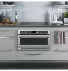 Toaster Oven Under Counter Ge Cafe Series 30 In Single Wall Oven With Advantium Technology