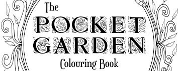 pocket garden colouring pack screwy lightbulb