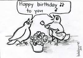 happy birthday singing pigeons and pansies my pigeons singing happy birthday to me