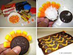 turkey cookies directions for oreo turkeys and for