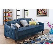 Dark Blue Loveseat Blue Sofas Loveseats And Chaises Ebay
